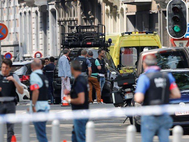بلجیئم میں فائرنگ، 2 پولیس اہلکاروں سمیت 4 افراد ہلاک