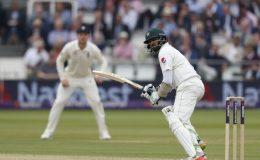 لارڈز ٹیسٹ کا دوسرا دن؛ پاکستان کو 166 رنز کی برتری حاصل