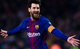 اسپینش فٹبال لیگ میں میسی کی ہیٹ ٹرک، بارسلونا نے 25ویں بار ٹائٹل جیت لیا
