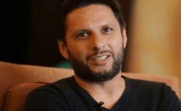 شاہد آفریدی ورلڈ الیون کی جانب سے میچ کھیلنے کیلیے پرعزم
