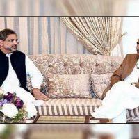 Shahid Khaqan Abbasi - Khursheed Shah