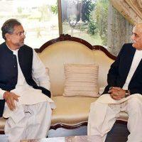 Shahid Khaqan Abbasi - Meeting