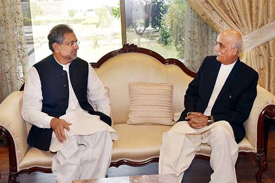 نگران وزیراعظم: عباسی اور خورشید شاہ کی 5 ویں ملاقات بے نتیجہ ختم