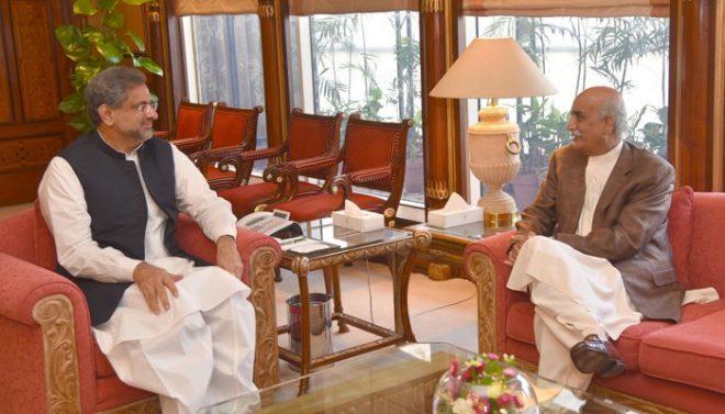 وزیراعظم اور اپوزیشن لیڈر کی ملاقات: نگراں وزیراعظم کے نام پر ڈیڈ لاک ختم