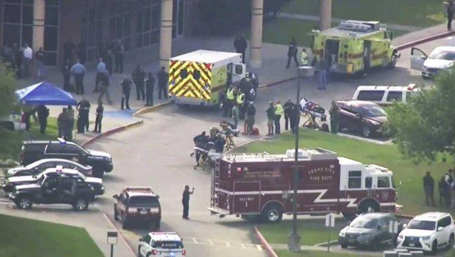 ٹیکساس کے سکول میں فائرنگ، طلبہ سمیت 10 افراد ہلاک
