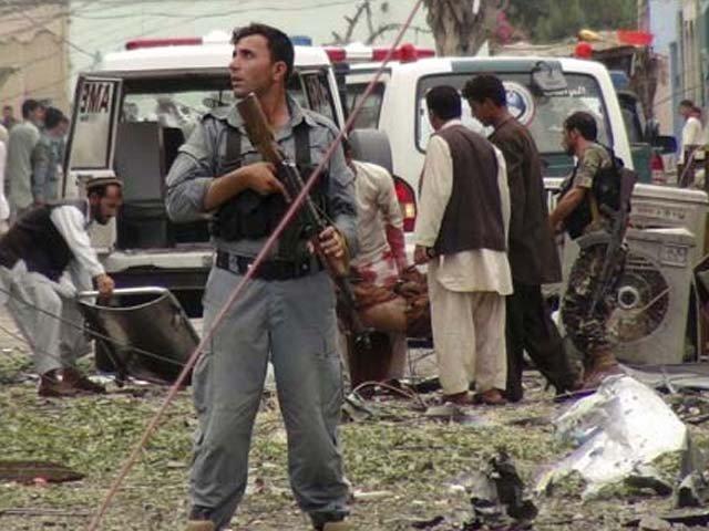 افغان شہر جلال آباد میں گورنر ہاؤس میں خودکش دھماکا، 10 افراد ہلاک