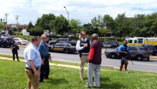 امریکی اخبار کے دفتر میں فائرنگ، 5 افراد ہلاک، 20 سے زائد زخمی