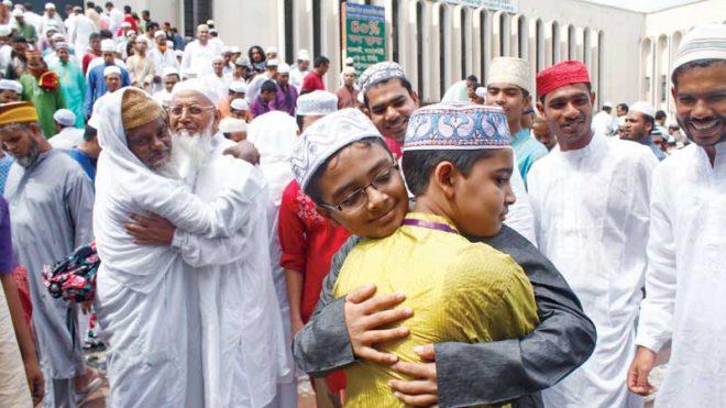 عید کی خوشیاں محروم افراد کے ساتھ