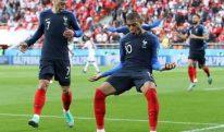 فرانس نے پیرو کو فٹبال ورلڈکپ سے باہر کر دیا