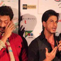 Irfan Khan - Shahrukh Khan