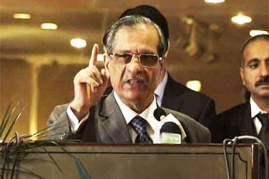 سندھ میں پی پی حکومت ہے لیکن ایک بھی ترقیاتی منصوبہ نظر نہیں آیا، چیف جسٹس