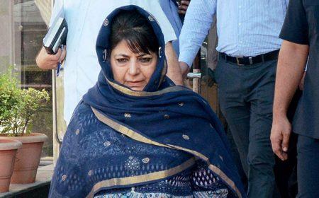 محبوبہ مفتی کا استعفیٰ، مقبوضہ کشمیر میں گورنر راج نافذ