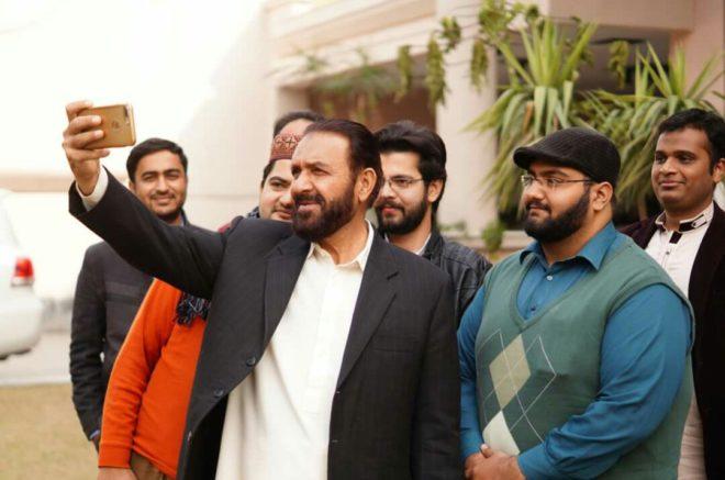 متحدہ مجلس عمل اسلام آباد کے امیدوار قومی اسمبلی میاں محمد اسلم کا عید ملن پروگرام