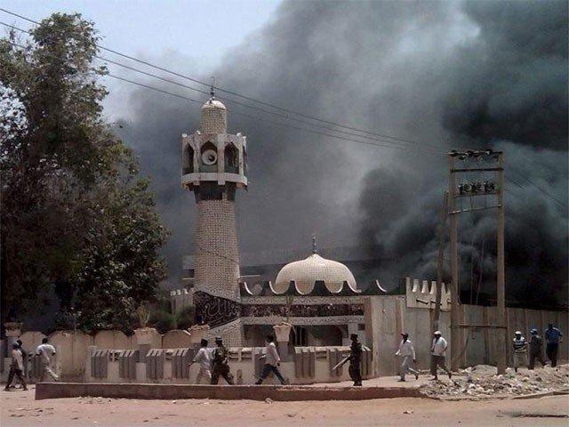 نائیجیریا کی مسجد میں افطار کے دوران 3 خودکش حملے، 10 افراد جاں بحق