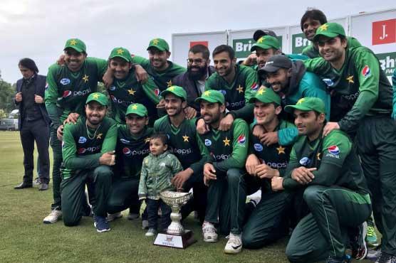 دوسرا ٹی ٹوئنٹی: پاکستان نے سکاٹ لینڈ کو ہرا کر سیریز جیت لی