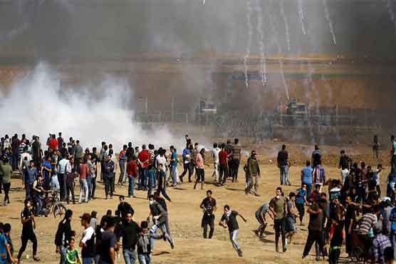 غزہ کی پٹی میں یوم القدس پر بھی مظاہرے جاری، 191 فلسطینی زخمی