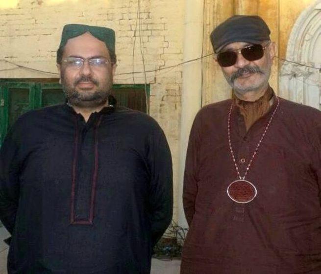 Dr. Ali Abbas with Shuj'a Bukhari