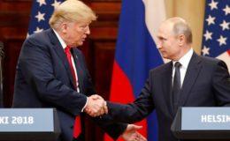 ٹرمپ اور پیوٹن کے درمیان ملاقات، تعلقات کی بحالی پر اتفاق