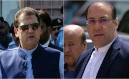حسن نواز اور حسین نواز کے دائمی وارنٹ گرفتاری انٹر پول کو ارسال