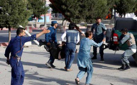 افغان نائب صدر کے قافلے پر خودکش حملہ، 16 افراد جاں بحق