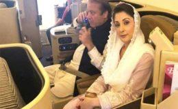 نواز شریف اور مریم نواز کو لاہور ایئرپورٹ سے گرفتار کرلیا گیا