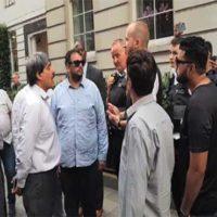 Nawaz Sharif Residence Protes