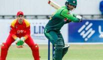 پاکستان نے زمبابوے کو ہرا کر دوسرا ون ڈے بھی جیت لیا