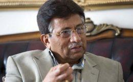 این آر او کے اجراء میں کوئی بدنیتی شامل نہیں تھی: مشرف کا عدالت میں جواب