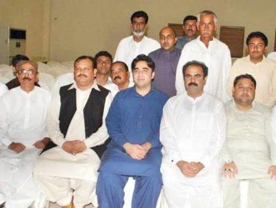 Yasir Waseem with Bilawal Bhutto